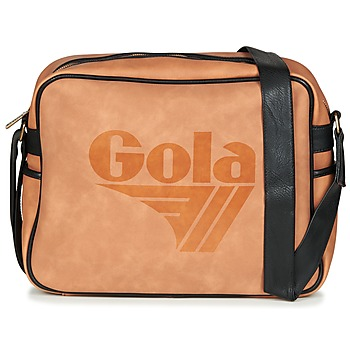 Gola REDFORD ELITE men's Messenger bag in Brown. Sizes available:One size