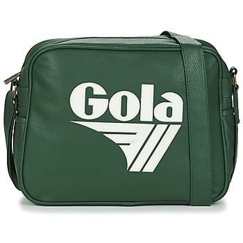 Gola REDFORD TOURNAMENT men's Messenger bag in Green. Sizes available:One size